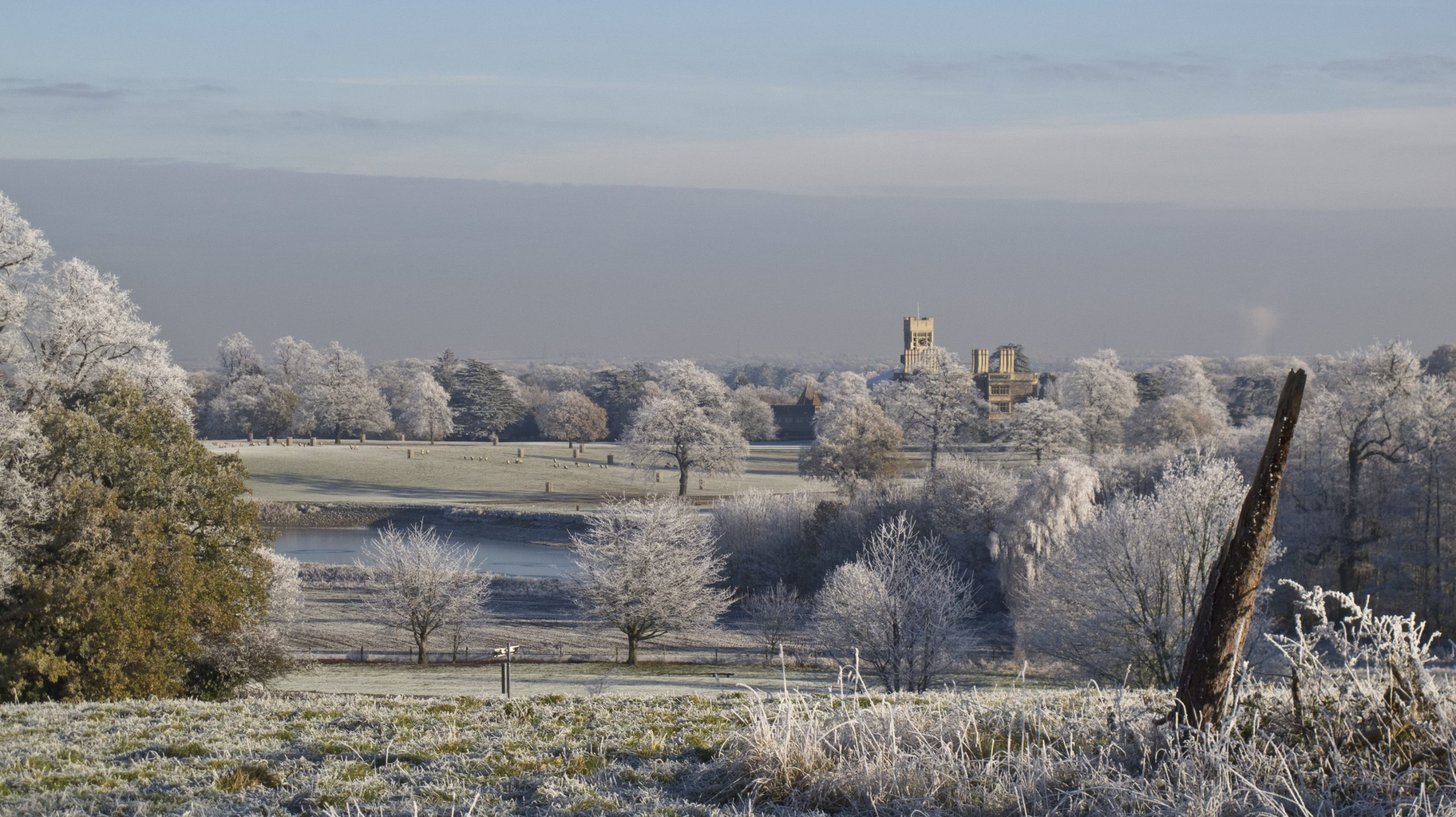 Picture of Bedfordshire Landscape in winter