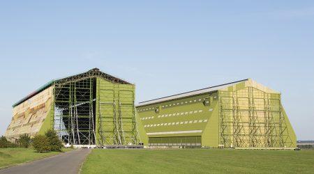 Photo of Cardington sheds (Airship Hangers)