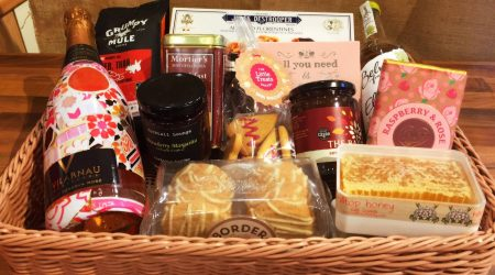 Hamper of food and drink