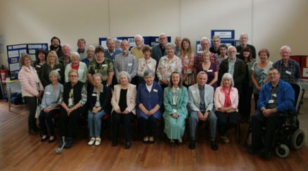 Good Neighbours volunteers at celebration event