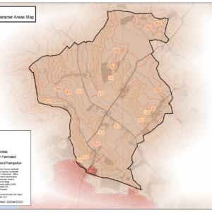 Ravensden Landscape Character Areas Map