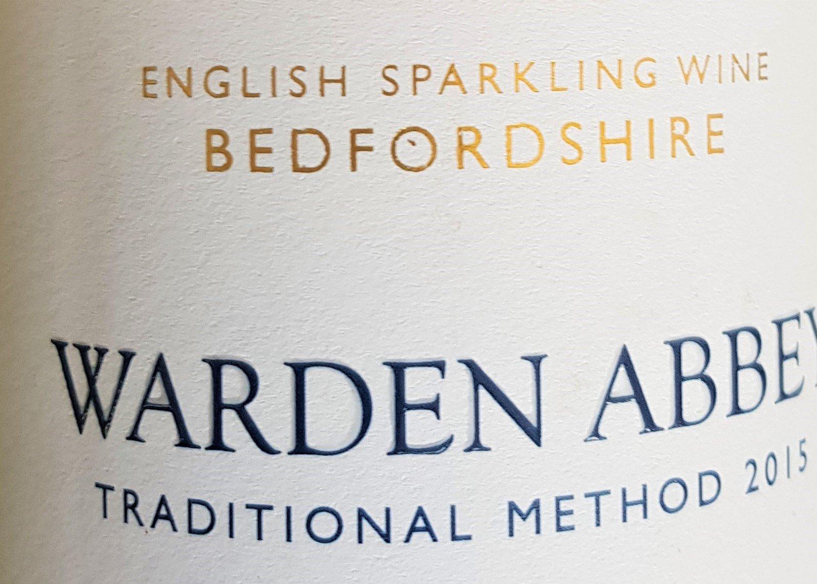 Warden Abbey wine bottle label