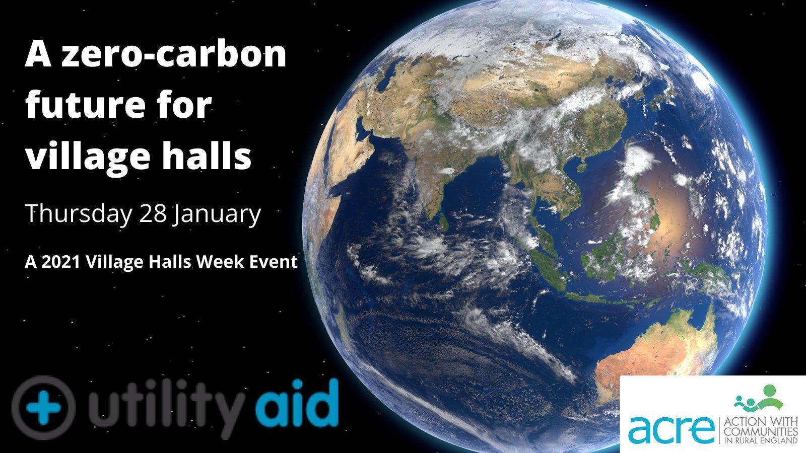 Zero carbon event poster