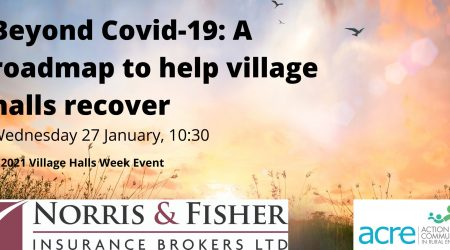 Beyond Covid-19: A roadmap to help village halls recover
