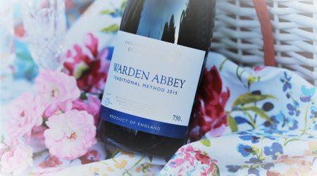 A bottle of Warden Abbey Sparking wine