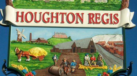 Houghton Regis sign