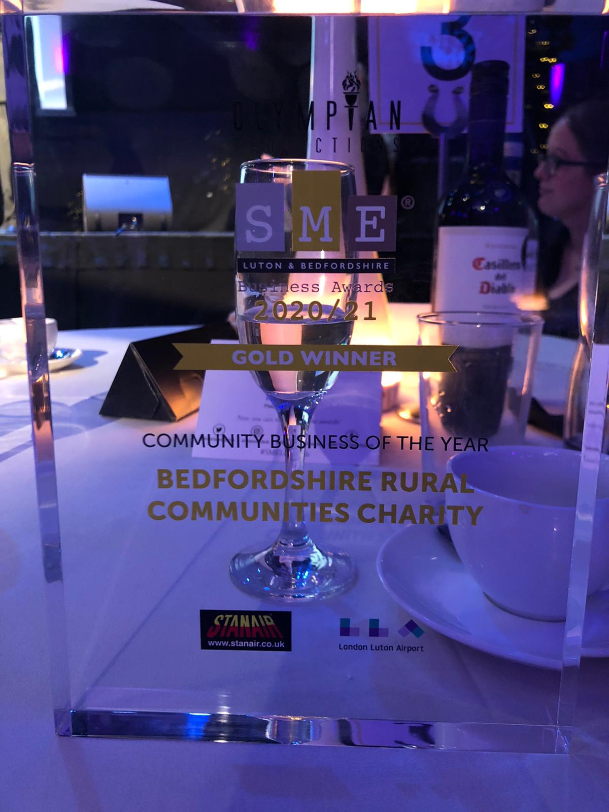 the Community Business of the Year Award