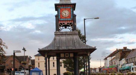 Dunstable clock and Market Cross